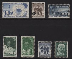Australie - Territoire Antarctique - N°1 à N°7 - Cote 39.25€ - * - Neufs Avec Charniere - Australian Antarctic Territory (AAT)