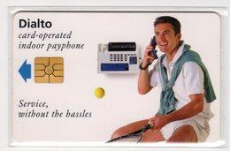 SUISSE - JOUEUR DE TENNIS, DIALTO ASCOM, DEMO CARD 120 U, Tirage 3000, 06/95, Mint - Suisse