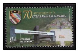 2018 MÉXICO 70 Aniversario De La Escuela Militar De Sargentos MNH 70th Anniversary Of The Military School Of Sergeants - Mexico