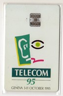SUISSE - TELECOM 95 GENEVE 3 11 Octobre 1995, DEMO CARD 30 U, Mint - Suisse