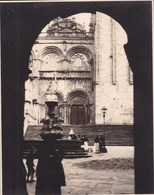 SANTIAGO De COMPOSTELA 1929 Photo Amateur Format Environ 7,5 Cm X 5,5 Cm - Plaatsen