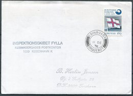 1976 Faroe Islands, Scotland Edinburgh Paquebot Ship Cover. Inspektionsskibet Fylla - Faroe Islands