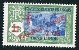 INDE ßurcharge «Croix De Lorraine Et FRANCE LIBRE» 2ca Sur 1R   Maury  249** - Neufs