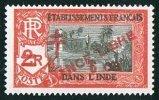 INDE Surcharge «Croix De Lorraine Et FRANCE LIBRE» 6 Ca Sur 2R  Maury  251 ** - Ungebraucht