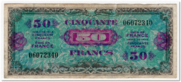 FRANCE,50 FRANCS,1944,P.117,VF - France
