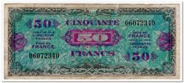 FRANCE,50 FRANCS,1944,P.117,VF - Francia