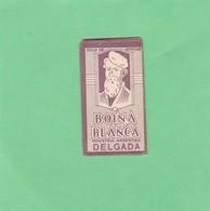 BOINA BLANCA DELGADA. INDUSTRIA ARGENTINA. CIRCA 1940'S. RAZOR BLADE LAME DE RAISOR HOJA DE AFEITAR - BLEUP - Lames De Rasoir