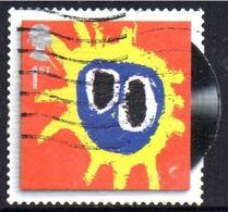 GROSBRITANNIEN GRANDE BRETAGNE GB  2010 CLASSIC ALBUM COVERS S/A: PRIMAL SCREAM 1ST USED SG 3007 SC 2742 MI 2849 YT 3233 - Gebraucht