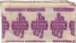 LEGION EXTRANGERA. INDUSTRIA ARGENTINA. CIRCA 1940'S. RAZOR BLADE LAME DE RAISOR HOJA DE AFEITAR - BLEUP - Scheermesjes