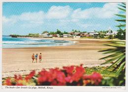 1782/ MALINDI, Kenya. The Beach. - Circulée En 1972. Sent In 1972. Viaggiata Nel 1972. Circulada En 1972 A España. - Kenia
