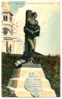 75018 PARIS - Montmartre - Monument Du Chevalier De La Barre - Colorisée - Arrondissement: 18