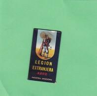 LEGION EXTRANGERA AZUL. INDUSTRIA ARGENTINA. CIRCA 1940'S. RAZOR BLADE LAME DE RAISOR HOJA DE AFEITAR - BLEUP - Lames De Rasoir