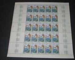 France 1968  Neuf** N° 1578  MORT DE DU GUESCLIN  Feuille  Complète (full Sheet) 25 Timbres - Full Sheets