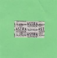 ASTRA SUPERIOR PLATINUM- CIRCA 1940'S. RAZOR BLADE LAME DE RAISOR HOJA DE AFEITAR - BLEUP - Scheermesjes