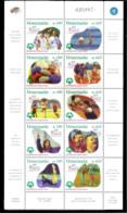 3190  Handicaps - Soccer - Volleyball - Venezuela Yv 2133-42 - MNH - 6,75 (22)  M28 - Handicaps
