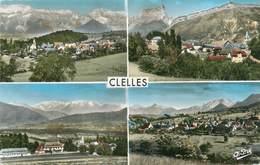 "CPSM FRANCE 38 ""Clelles, Vues"" - Clelles"