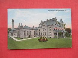 County Jail  Binghamton Ny. Ref 3452 - Gevangenis
