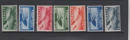 Italy Republic AP 126-132 1945 Air Post,mint Never Hinged - Airmail