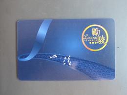 Macao Legend Rewards - Casino Cards