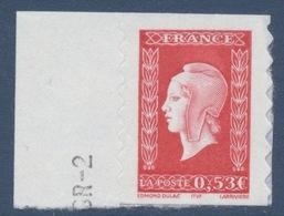 N° 66 (3841), Marianne De Dulac Valeur Faciale 0,53 € - Adhésifs (autocollants)