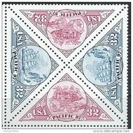 USA   1997  Sc#3131a  32c PACIFIC 97 Block Of 4 MNH - Estados Unidos