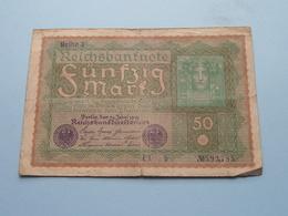 Reihe 3 Fünfzig Mark - Berlin, Den 24 Juni 1919 ( N° 593,785 ) ( Voir/zie Foto's ) ! - 50 Mark