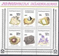 2003. Azerbaijan, Minerals, S/s With OP New Value, Mint/** - Aserbaidschan