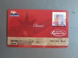 Star Cruises Genting Rewards Classic Card - Cartes De Casino