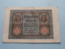 Hundert Mark - Berlin, Den 1 November 1920 ( N° T 17769826 ) ( Voir/zie Foto's ) ! - 100 Mark