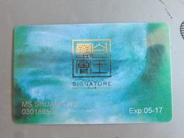 Macao Signature Club - Casino Cards
