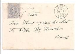 Willem III Emisie 1872 5ct NVPH19. Puntstempel 105 Tiel 3.3.76 - 1852-1890 (Wilhelm III.)