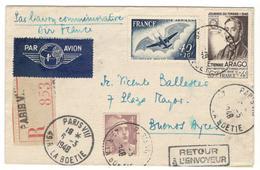19207 - 20e Anniversaire  Liaison AEROPOSTALE - 1927-1959 Brieven & Documenten