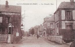 SAINT-PIERRE-EN-PORT : La Grande Rue - Frankreich