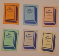 ALTE SCHACHTEL - Matchbox Labels