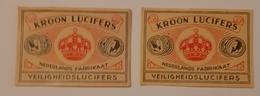 KROON LUCIFERS - Matchbox Labels