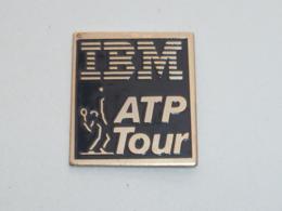 Pin's TENNIS, IBM ATP TOUR - Tennis