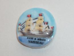 Pin's FEVE, VAISSEAU DU XVIII° SIECLE - Boats