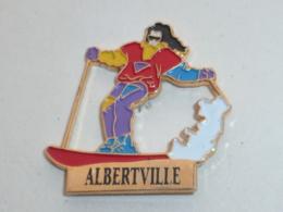 Pin's MONOSKI A ALBERTVILLE - Olympic Games