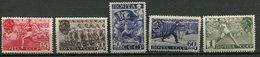 Russie ** N° 773 à 777 - Sports - Unused Stamps