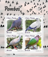 Sao Tome  2019 Fauna   Pigeons S201903 - Sao Tome Et Principe