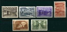 Russie ** N° 1136 à 1141 - Stations De Métro - 1923-1991 USSR