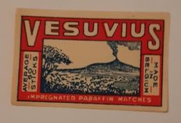 VESUVIU - Matchbox Labels