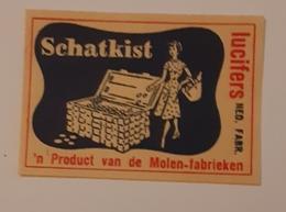 SCHATKIST - Matchbox Labels
