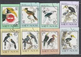 Vietnam 1977 - Hornbill Birds - Imperforated, Canceled - Vietnam