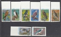 Vietnam 1982 - Prey Birds - Imperforated, Canceled - Vietnam