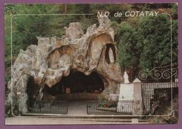 42 - LE CHAMBON-FEUGEROLLES - La Grotte Et La Vierge Notre-Dame De Cotatay - Le Chambon Feugerolles