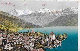 AK 0273  Oberhofen Am Thunersee Um 1913 - BE Bern