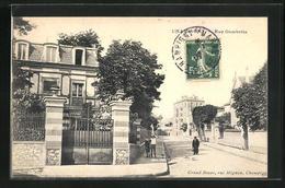 CPA Champigny, Rue Gambetta - Francia