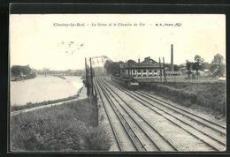 CPA Choisy-le-Roi, La Seine Et Le Chemin De Fer - Choisy Le Roi