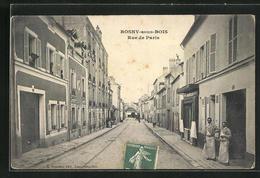 CPA Rosny-sous-Bois, Rue De Paris - France